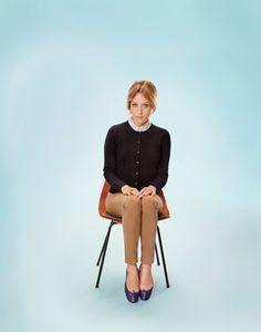 Chloe Sevigny by Ryan McGinley for Uniqlo