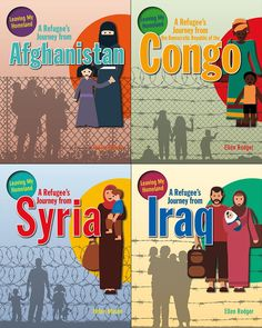 Leaving My Homeland Bundle - Northwoods Press Refugees Syria, Leave Me, Homeland, Comic Books, Journey, Drawing Cartoons, The Journey, Cartoons, Comic Book