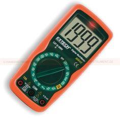 http://handinstrument.se/multimeter-r742/multimeter-53-MN42-r789  Multimeter  Inbyggd beröringsfri spänningsprovare (från 100 till 600VAC)  AC / DC Spänning, DC ström, resistans, kontinuitet / diod, batteritest  Manuell områdesinställning  2000 punkter LCD-display med hög kontrast  1.5V och 9V batteri testfunktionen  Komplett med testsladdar, 9V batteri och bärväska Garanti: 2 År