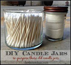 DIY Candle Jars