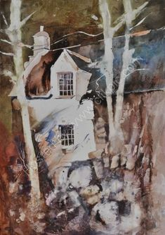 John Blockley Watercolours Watercolor Drawing, Watercolor Artists, Watercolor Texture, Watercolor Landscape, Abstract Landscape, Painting & Drawing, Landscape Paintings, Landscape Quilts, Beautiful Paintings