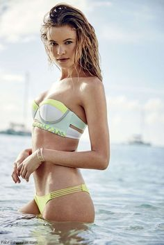 Behati Prinsloo for Victoria's Secret Swim Catalog 2015. #vsswim #swimwear
