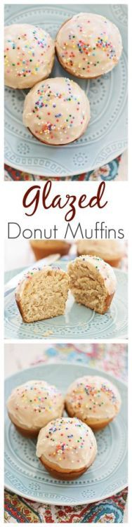 Glazed Doughnut Muffins recipe by combining two favorites into one treat: doughnut muffins and glazed with sugar. Sinfully good and youll want more. Recipe by Jamie {My Baking Addiction}   rasamalaysia.com
