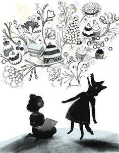Pinzellades al món: Vaja lectors, la Caputxeta i el llop! / Vaya lectores, Caperucita y el lobo! / Go readers, Little Riding Hood and the Wolf! (24)