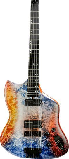 Vice Guitars Vius headless in Medusa