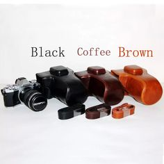 Leather Camera Case Cover Bag  for Olympus OM D OMD EM5, E-M5, EM 5, E M5 OM-D EM5 Mark II  camera case bag