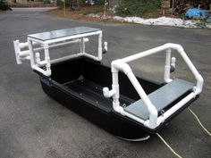 pvc pipe boat | ... Show us your PVC, Build, add-on, rod holders, ETC. Any with PVC pipe