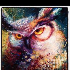 Beautiful Owl Painting