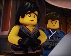 Cole and Jay from Ninjago season 8