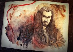 Thorin by Kinko-White on deviantART ~ I so wish I could do this!