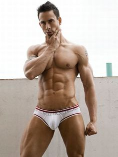VINCENT male fitness model © RICK DAY ► rickday.blogspot.com # pecs six pack abs hunk men nice arms bare chest hot guy male body shirtless musculoso