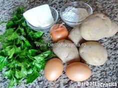 Chiftele de cartofi Ingrediente Romanian Food, Romanian Recipes, Easter Eggs, Vegan, Breakfast, Diet, Fine Dining, Food, Morning Coffee