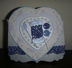 Parisienne Blue Sewing