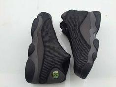 Men's Nike Air Jordan 13 Retro Bred Black Grey