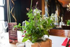 A Herb Bouquet by The Informal Florist #Kevin Dundon