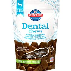 Hill's Science Diet Dental Chews with Real Vegetables Dog Treats - PetSmart Dog Snacks, Dog Treats, Dog Dental Chews, Dog Chews, Dog Food Recipes, Diet Recipes, Hills Science Diet, Dog Diet, Keto
