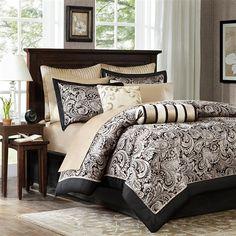 Designerliving.com - Shop Bedding, Bath, Home Decor, Furniture, Pets, Youth and More. Madison Park Aubrey 12 Piece Comforter Set
