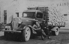 rekka-auto 30-luvulla – Google-haku Finland, Monster Trucks, Vehicles, Google, Rolling Stock, Vehicle