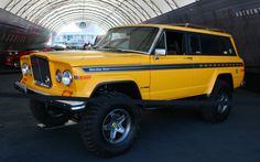 Sweet modified Jeep Cherokee Chief!