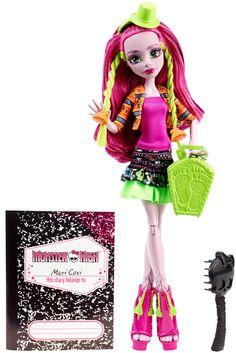 "Monster High - Monster Exchange Program - Marisol Coxi basic fashion doll. Монстр * Монстер Хай - кукла Марисоль Кокси базовая из серии ""Монстры по обмену"""