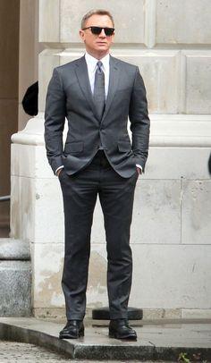 James Bond Spectre Grey Suit