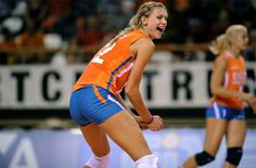 Manon Flier, volleyball player from Netherlands.