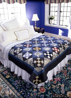 Free Bed Quilt Patterns