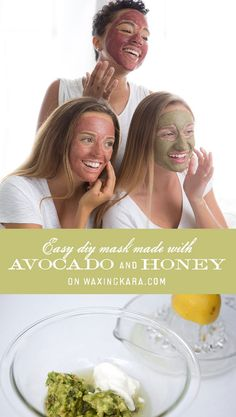 Our DIY Honey Avocado Mask provides your skin with soothing, nourishing oils and essential vitamins from pure, raw honey.