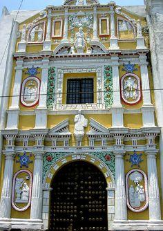 Templo de los Gozos, Puebla, Mexico