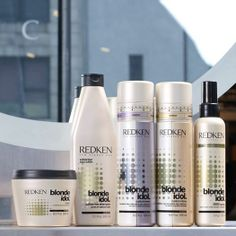Introducing #Redken Blonde Idol - a sulfate free shampoo, paired with a color-depositing conditioner & a first-ever BBB spray. http://bit.ly/UncSzs