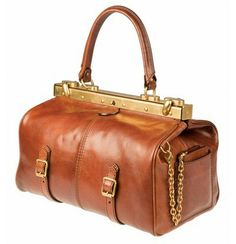 Medium Alyce bag by The Bridge - available from Luck of Louth in Lincolnshire. Gladstone Bag, Bago, E Design, Briefcase, Italian Leather, Classic Style, Handbags, Wallet, Bridge