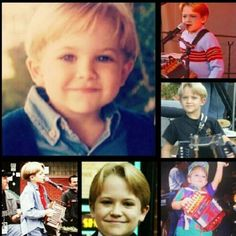 This is adorable! :)...little HH. dang he was doing everything even when he was little!