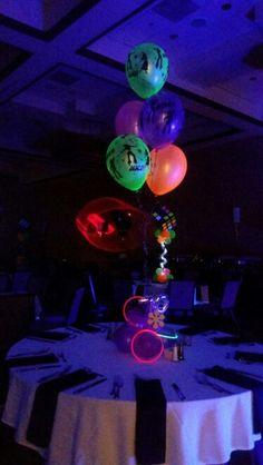 NEON Color balloon centerpieces Balloons #2: edc6d3320d cd af542c