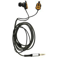 The Met Store - Art Buddies: Guitar In-Ear Headphones
