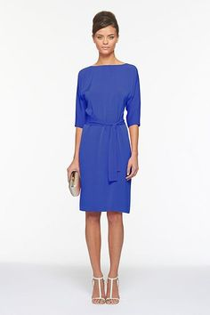 Want to wear to a wedding/work...saw it in coral, but think the blue is the way to go!