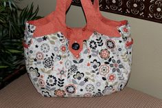 Semper Fun Cosmo Bag  READY TO SHIP by SemperFabDesigns on Etsy, $60.00