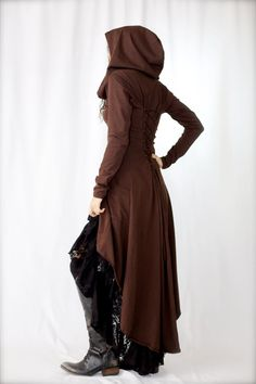 Nienna Hooded Jacket by ZhenNymph on Etsy