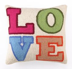 Perfect for Valentine's - Love Hook Pillow – Heart & Home