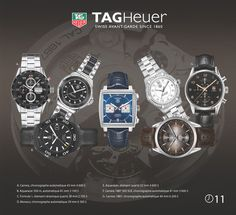Tag Heuer Watches collection