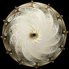 Image 1- Silk Scudo Saraceno Ivory Fortuny Ceiling Fixture.  Absolutely Stunning !  I want this !!!!!!