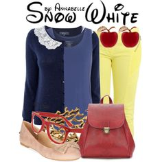 Snow White by annabelle-95 on Polyvore