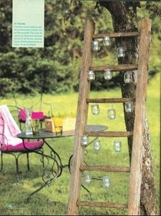 Mariage champ tre on pinterest mariage backyards and sweets - Idee deco de jardin exterieur ...