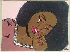 Black Women Art, Black Art, Crying Girl, Female Art, Pop Art, Snow White, Disney Characters, Fictional Characters, Artsy