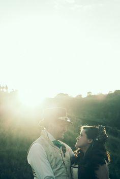 Victorian Steampunk Wedding at The Eden Project: Cas & Geoff