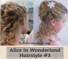 Alice in Wonderland Hairstyle #3 | Babes In Hairland