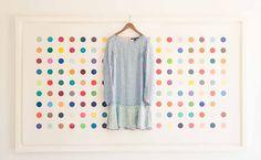 giant polka dot print