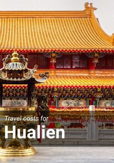 Travel costs for Hualien