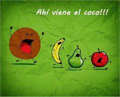 ¡Que viene el coco! #compartirvideos  #videowatsapp #imagenesdivertidas