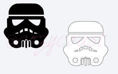 Stormtrooper DecalStar Wars Car Decal Window by cozycoastshop