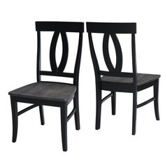 Phoenix Solid Wood Dining Chair (Set of 2)